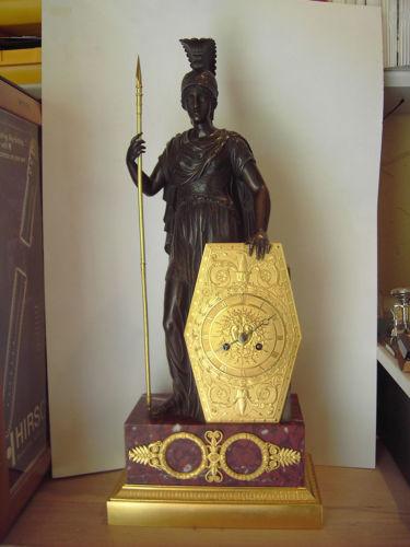 Pendule Pallas Athene